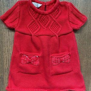 Baby Girl Knit 🧶 Dress